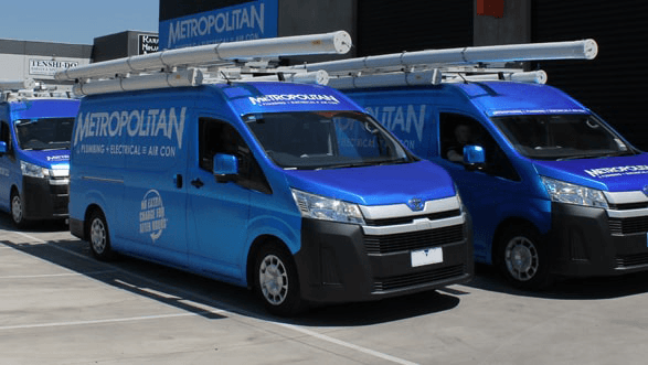 Metropolitan Electrical Contractors Edinburgh Vans Image